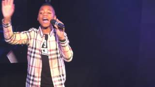 LIKE IM GONNA LOOSE YOU – JOHN LEGEND & MEGHAN TRAINOR by JEREMIAH at the Grand Final of Open Mic UK