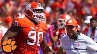 Dexter Lawrence Wins ACC Defensive Rookie of the Year