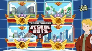 Transformers Rescue Bots: Disaster Dash Hero Run | THE END - The World is save! By Budge