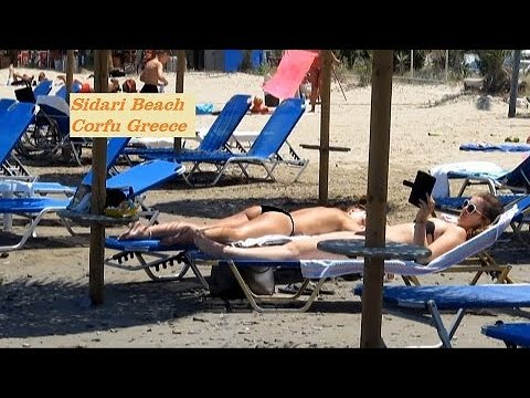Sidari Beach Corfu Greece June 2015
