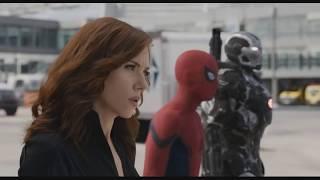 Captain America Civil War 2016  Airport Battle REVERSE HD