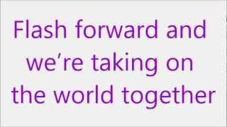 Glee - Mine (Lyrics) HD