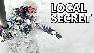 The Local Powder Snowboarding Secret