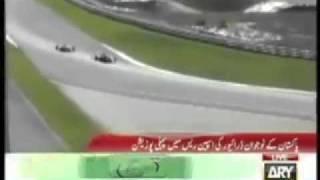 1st Pakistani to win Formula 1 BMW Race-Ahmed Y. Mirza
