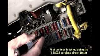Rastreador de cortos  electrico automotriz