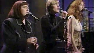 "Wilson Phillips ""Hold On"" (stereo) on Late Night, April 24, 1990"