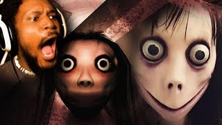 MOMO YOU WERE NOT INVITED TO MY HOUSE   Momo (Creepypasta Monster)