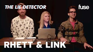 Rhett & Link Take A Lie Detector Test