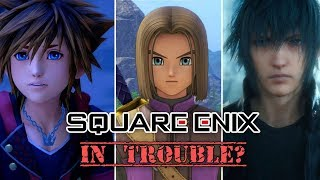 Is Square Enix In Trouble? - A Streak Of Underperformance & A $33 Million Loss