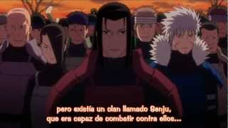 Madara vs Hashirama--- [Origen konoha][Sub Esp]