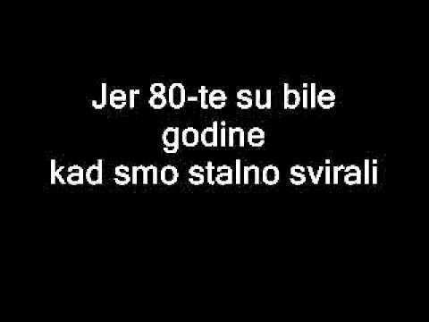 Daleka Obala - 80e lyrics