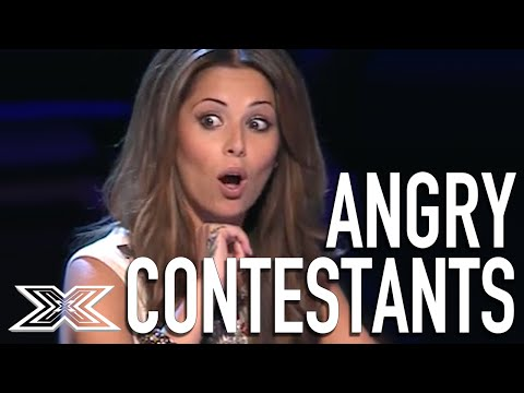 Angry Acts Top 5 Angriest Contestants from The X Factor UK