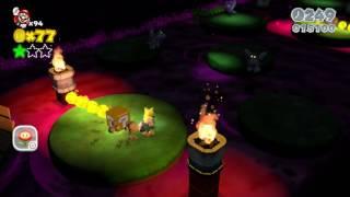 Super Mario 3D World: World Flower-3 - Piranha Creeper Creek after Dark