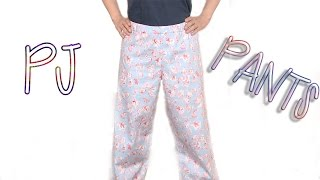 DIY: How To Sew PJ Pants* Beginners sewing project