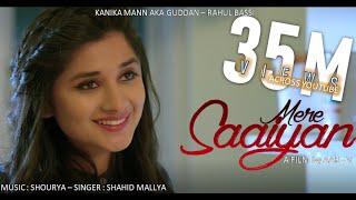MERE SAIYAAN (Official Song) Shahid Mallya | Kanika Mann | Shourya | Latest Romantic Songs 2018