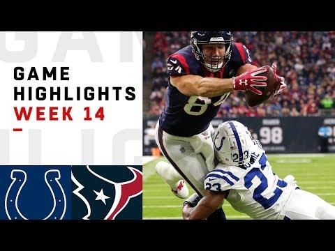 Colts vs. Texans Week 14 Highlights | NFL 2018
