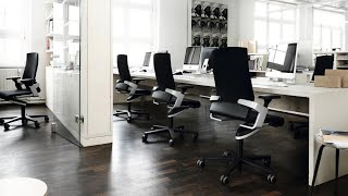 Ergonomic office chair ON - how to use