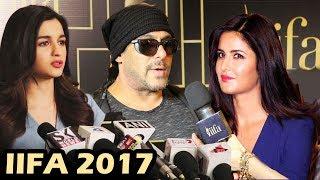 Salman Khan, Katrina Kaif & Alia To Sparkle At IIFA 2017 Press Conference