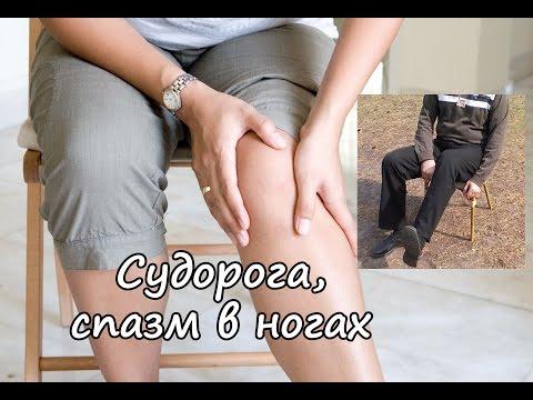 Что делать если схватила судорога на ноге и не отпускает