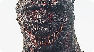 GODZILLA RESURGENCE Trailer (2016) Toho japanese Godzilla Movie