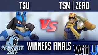 Frostbite 2017 WINNERS FINALS - tsu (Lucario) vs TSM | ZeRo (Diddy Kong, Cloud, Falcon)