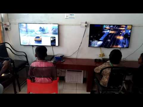 Beggars enjoying PS3 and PS4 at Gaming Zone (Do check link in description)