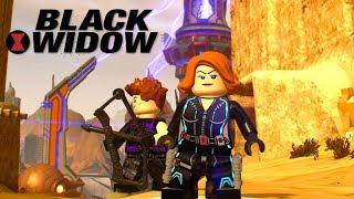 LEGO Marvel Super Heroes 2 Black Widow Unlock Location + Free Roam Gameplay