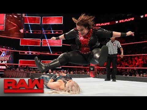 Xxx Mp4 Mickie James Vs Dana Brooke Vs Nia Jax Triple Threat Qualifying Match Raw Aug 7 2017 3gp Sex
