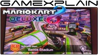 Mario Kart 8 Deluxe - Battle Mode Gameplay