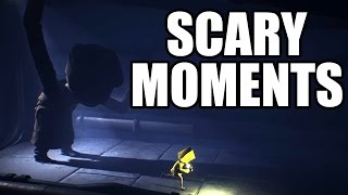 LITTLE NIGHTMARES - Scary Moments / Creepy Scenes