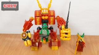 Lego Ninja Rùa và cổ máy Robot khổng lồ   đồ chơi trẻ em   brick toy for kids