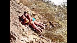 Lovers Catched At Goa Beach lonely place