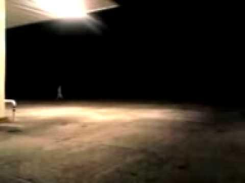 Fantasma en una gasolinera Puebla