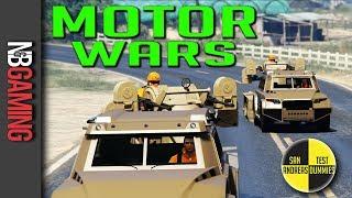 GTA 5  - Motor Wars - San Andreas Test Dummies Ep. 88 - GTA5 Funny Moments