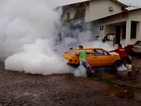 Gol Ls Turbo Burnout