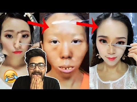 Xxx Mp4 Hot Asian Girls Makeup Transformation Oye Velle 3gp Sex