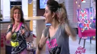 بالفيديو.. ريم أحمد ترقص «زومبا» على الهواء في «ست الحسن»