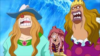 Sengoku Announces Luffy's Father English Dubbed