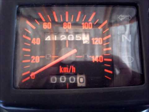 Reforma da Honda NX 350 Sahara ano 1998.