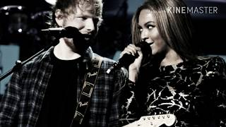 Perfect - Ed Sheeran ft. Beyoncé (Letra español e inglés)