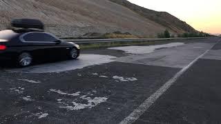Скокање со коли по македонски автопат, август 2017