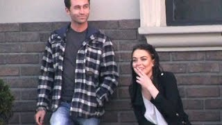 Lindsay Lohan Shares Long Dinner With Porn Star James Deen And Bret Easton Ellis [2012]