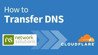 How to Switch DNS from Network Solutions to Cloudflare