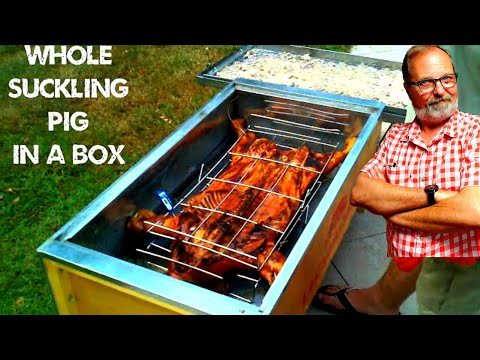 La Caja Asadora La Caja China Cuban Pig Roaster home video