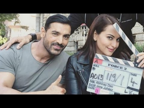 Sonakshi Sinha And John Abraham Busy Shooting 'Force 2' | Bollywood News