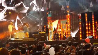 Serebro - Kiss (live @ Coca Cola Summer Festival)