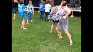 Drunk Lady Dancing - Vine