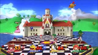 Princess Peach's Castle (Melee)- Super Smash Bros. for Wii U Mod Showcase