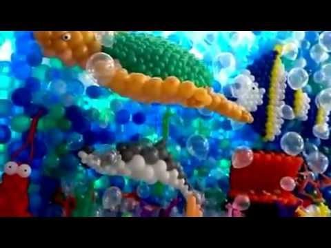 Fundo do mar. Mais um com assinatura Cenario baloes