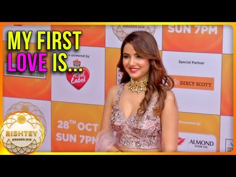 Xxx Mp4 Jasmin Bhasin CONFESSES About Her FIRST LOVE Zee Rishtey Awards 2018 3gp Sex